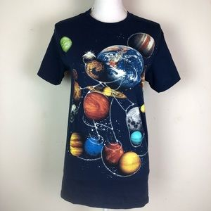 Disney Mickey Mouse Solar Planet T-shirt Small